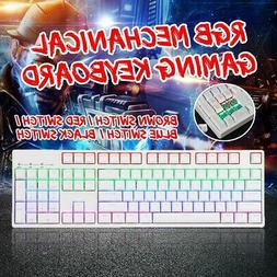 JAGOR 104 Key RGB Illuminated Mechanical Gaming Keyboard Bro