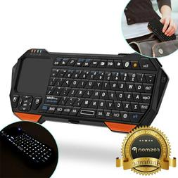Fosmon 30FT Mini Wireless Bluetooth Keyboard Touchpad for iO