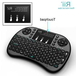 Rii i8+ Mini 2.4G Wireless Keyboard Illuminated For Kodi Ras