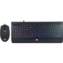 Adesso AKB-137CB Illuminated Gaming Keyboard & Mouse Combo
