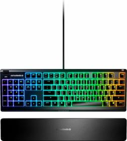 SteelSeries - Apex 3 Wired Gaming Keyboard with RGB Back Lig