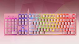 @@@*****Razer Huntsman Quartz Pink Mechanical Keyboard*****@