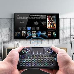 I10 2.4G Backlight Wireless Keyboard Controls Touchpad for A