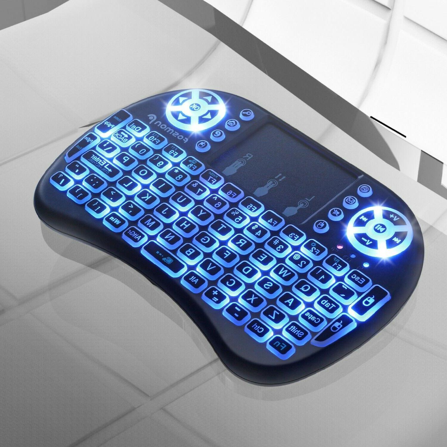 Fosmon 2.4GHz Keyboard Touchpad Android Windows