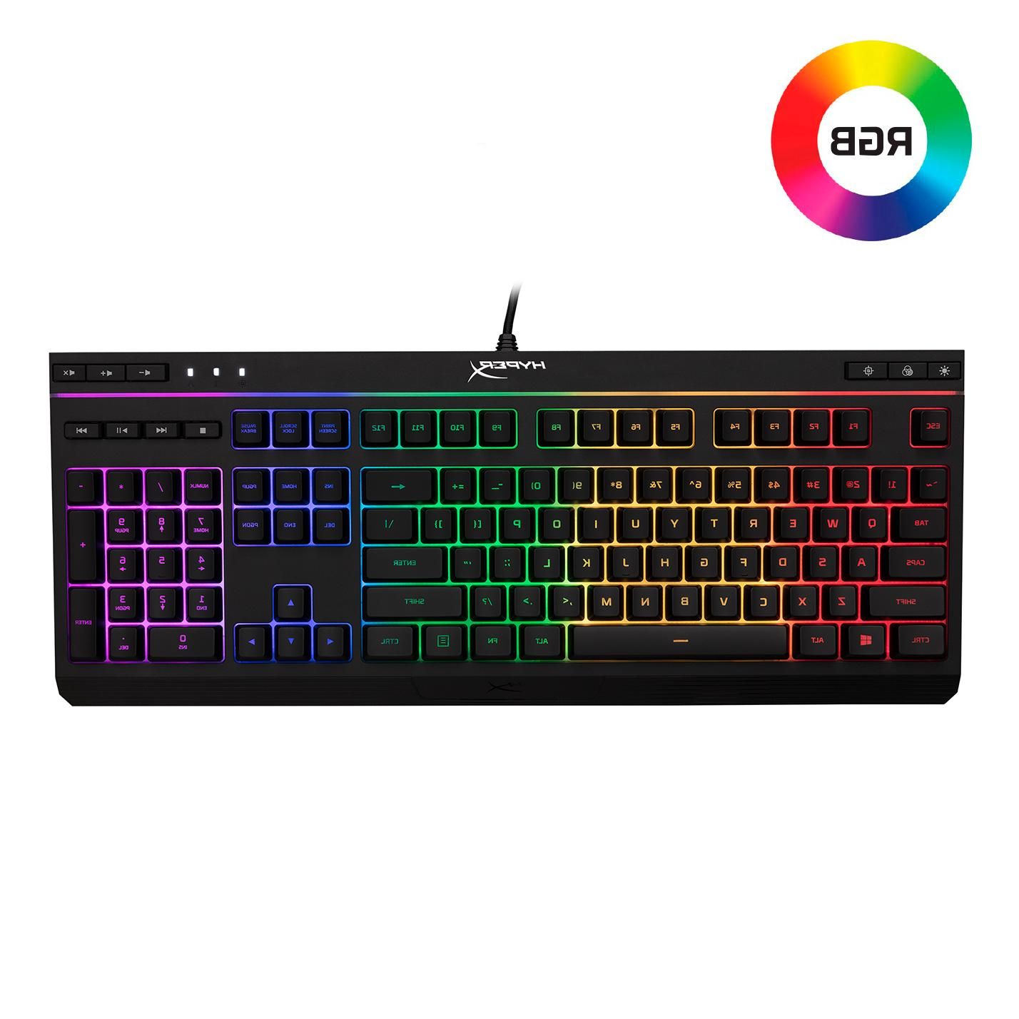 alloy core rgb membrane gaming keyboard comfortable