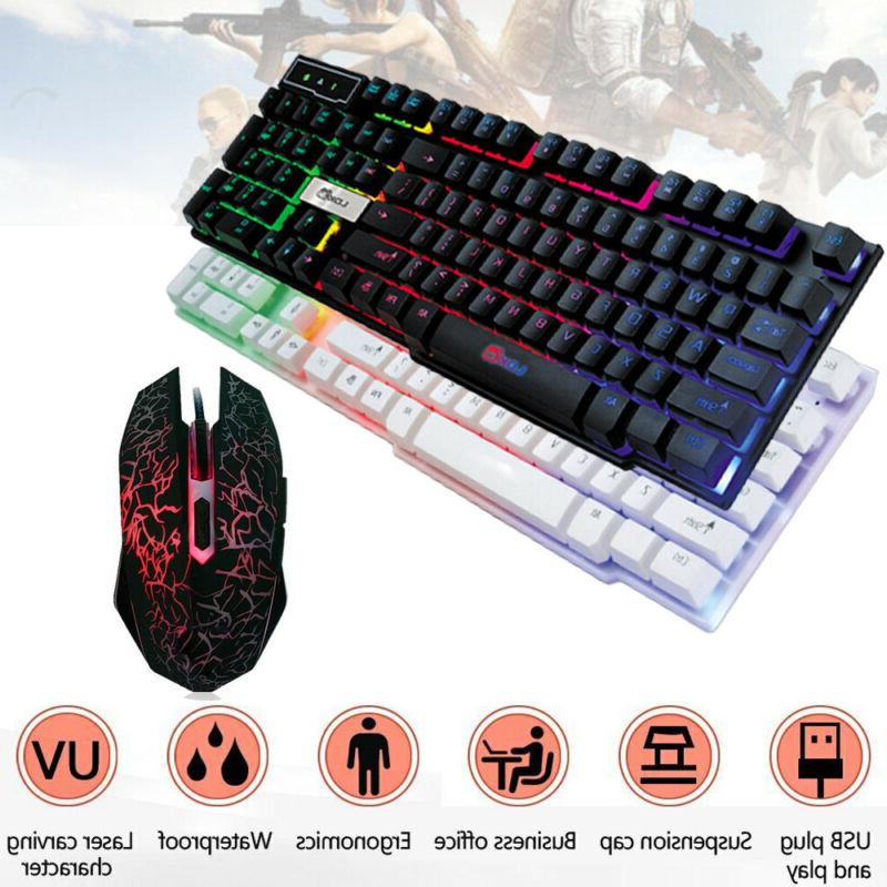 colorful gaming keyboard crack led illuminated backlit