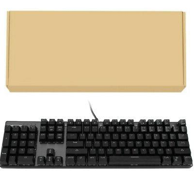 Mechanical Keyboard LED Backlit Water-Resistant 11