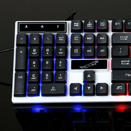 Gaming Rainbow LED For PC Laptop PS4 Slim