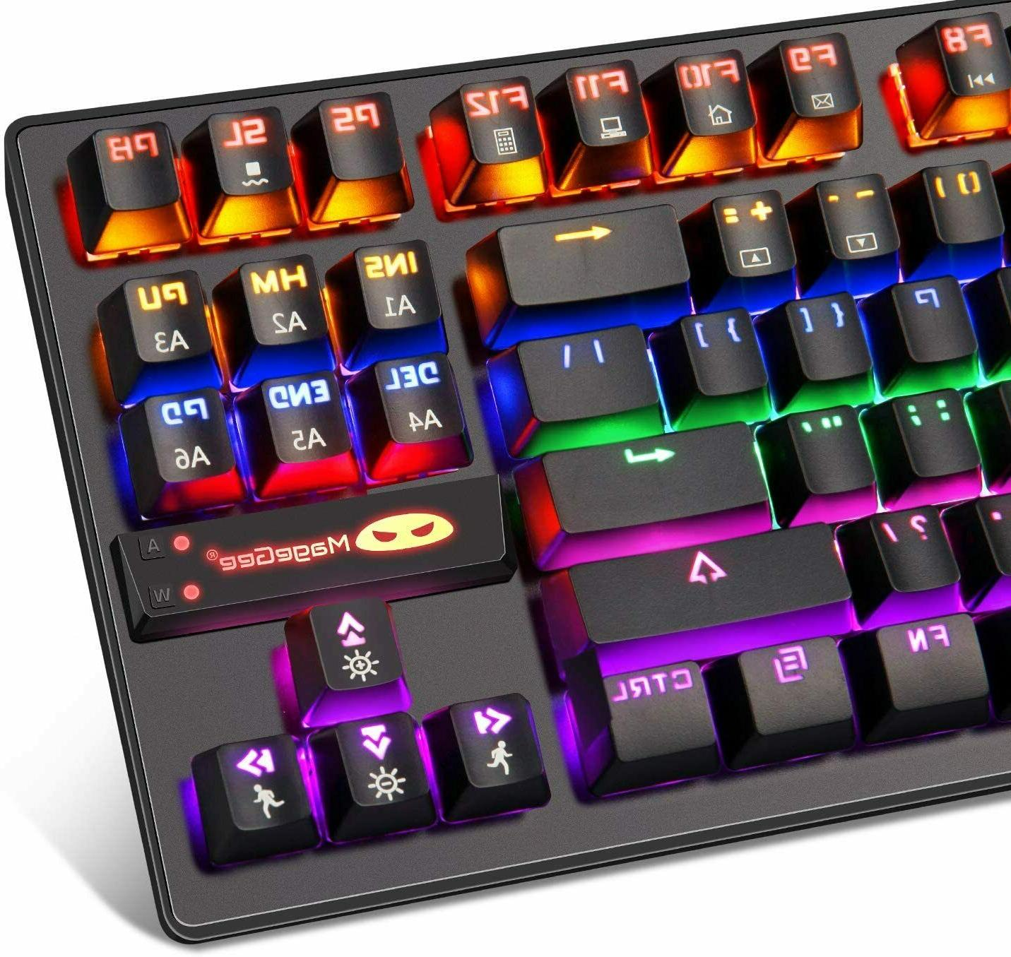 Gaming Switches Keys Compact LED