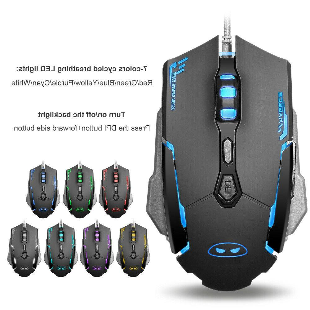 GK806 Gaming and Mouse 104Key with Rest for