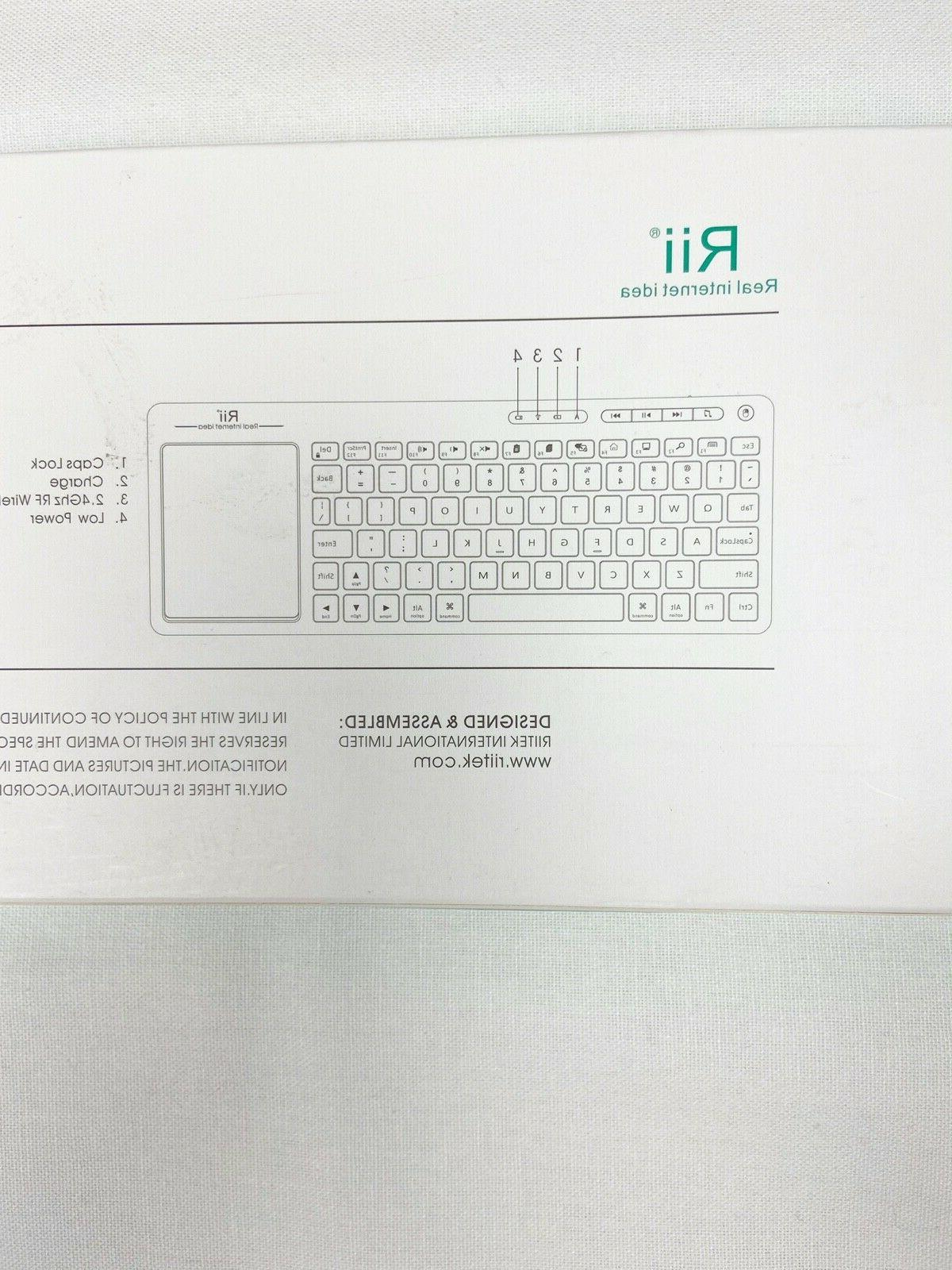 K18 Color Multimedia Keyboard With
