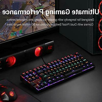 Redragon Keyboard RGB Red Switches