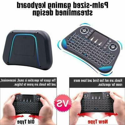 LED 2.4GHz Mini Wireless Keyboard For Android PC