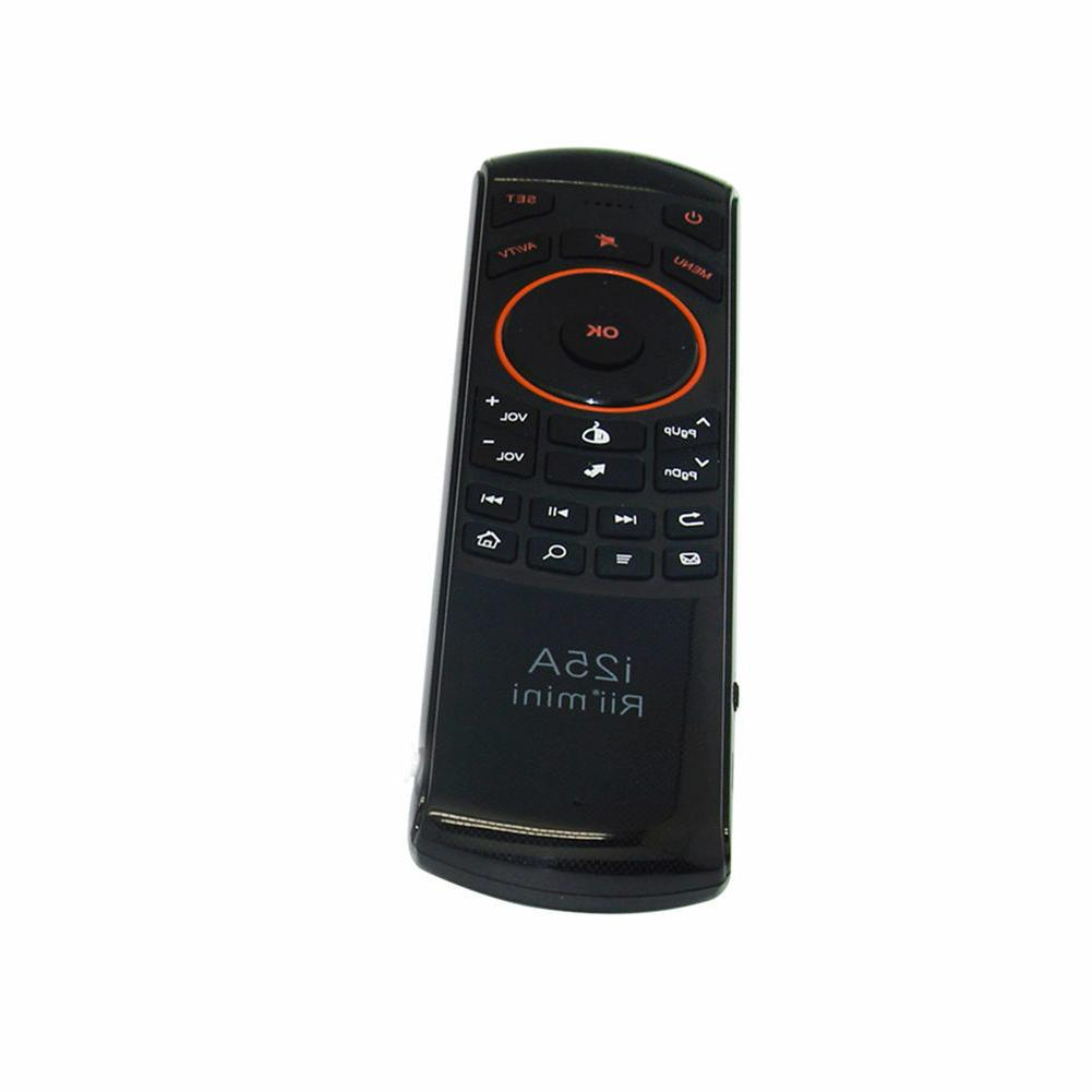 Rii mini 2.4Ghz Air Remote with Keyboard for Android