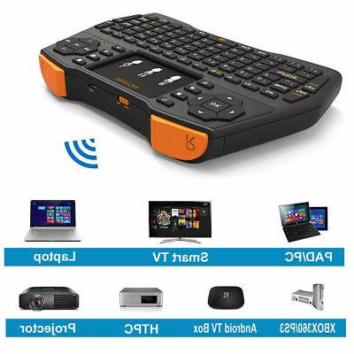 mini wireless keyboard touchpad mouse