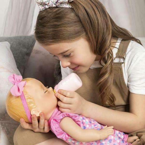 Luvabella Interactive Baby Doll with Real Expressions