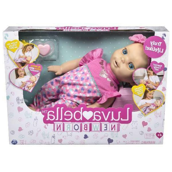 Luvabella Blonde Interactive Baby with Real Expressions