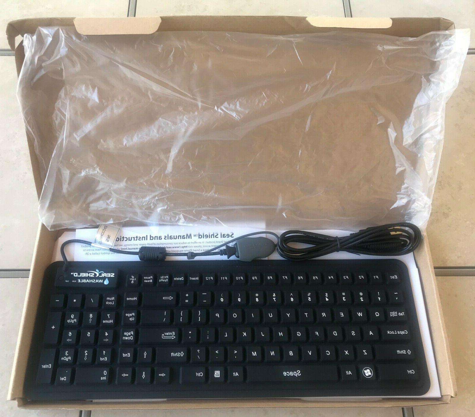 s106g2m seal glow silicone keyboard backlit magnetic