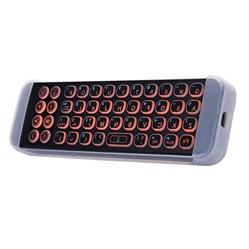Updated Control, iPazzPort Mini Bluetooth Keyboard with Smart TV, Tv