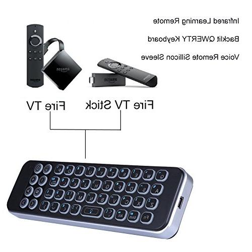 Updated Infrared Control, iPazzPort Mini Bluetooth Keyboard for Smart TV, Android Box