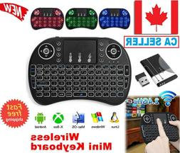 Mini Wireless Remote Keyboard Backlit for Samsung LG Smart T