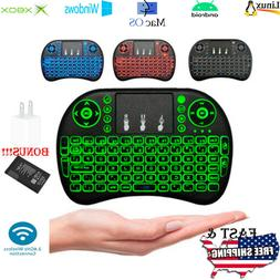 Mini Wireless Remote Keyboard Mouse for Samsung,LG Smart TV,