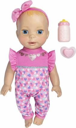 Luvabella Newborn, Blonde Hair, Interactive Baby Doll with R