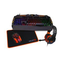 rainbow gaming keyboard mouse mouse pad