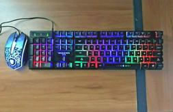 rgb gaming keyboard and mouse combo rgb