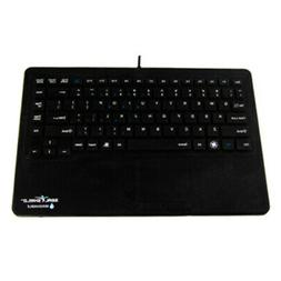 SEAL SHIELD SW87P2 TOUCH SILICONE ALL-IN-ONE KEYBOARD BUILT-